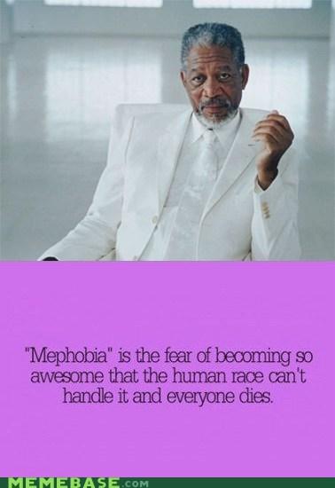 human race Morgan Freeman mephobia - 6718656256
