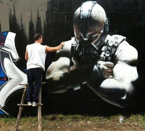 mural design batman BAMF - 6718802944