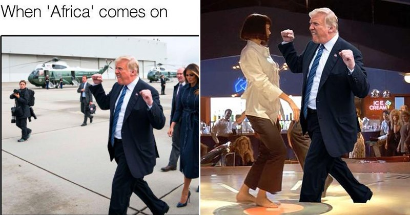 trump photoshop meme