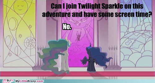 :(,screen time,jerk,princess celestia,luna