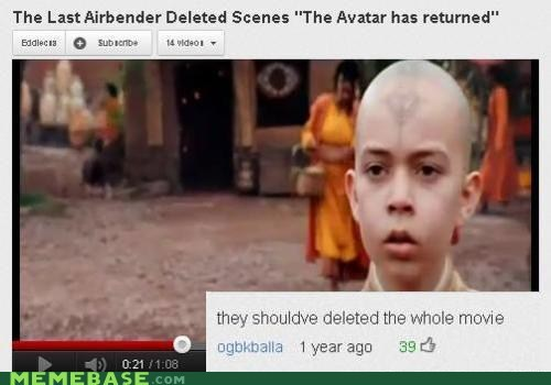 m night shamallamadingdong,youtube,m night shyamalan,deleted,Avatar