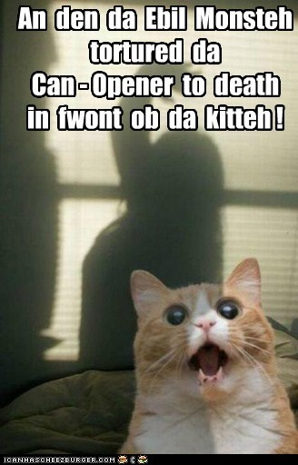 horror,scary,halloween,captions,Cats,can opener,monster
