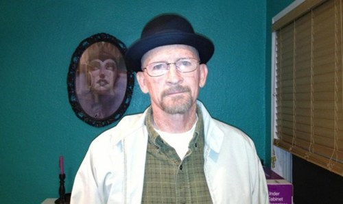 breaking bad heisenberg walter white halloween costume - 6719622400