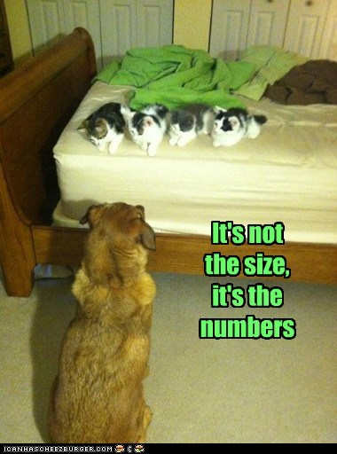 It's not the size, it's the numbers