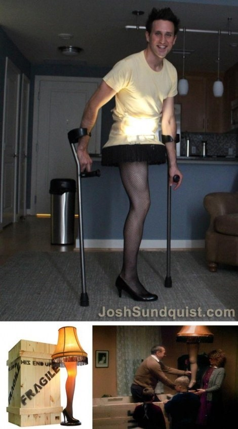 leg lamp halloween josh sundquist A Christmas Story - 6719731712