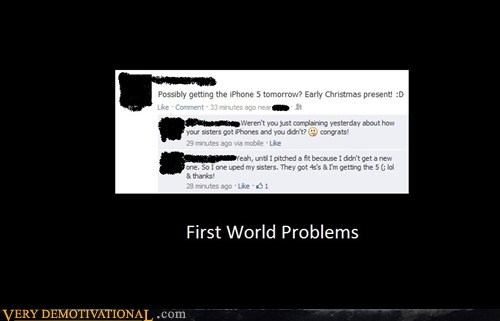 facebook First World Problems idiots iphone - 6719732736