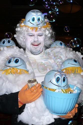 halloween costumes,scrubbing bubbles