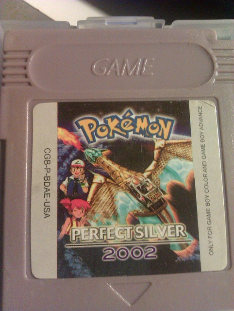 game boy,i want this game,perfect silver