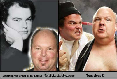tenacious d Music TLL Kyle Gass funny jack black christopher cross - 6719954432