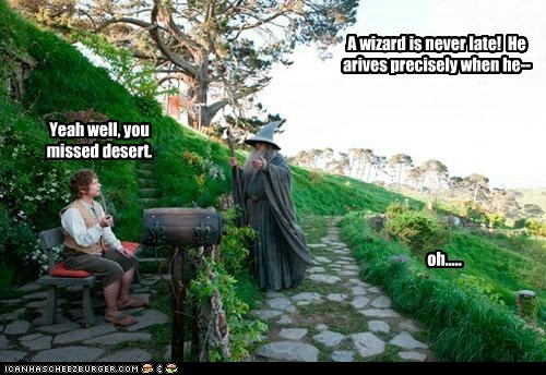 desert Martin Freeman Bilbo Baggins ian mckellen gandalf wizard The Hobbit late - 6720007424