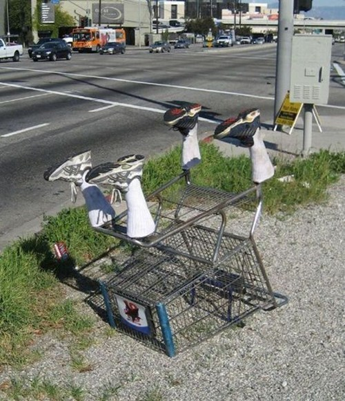 shoes mannequin shopping cart - 6720031488