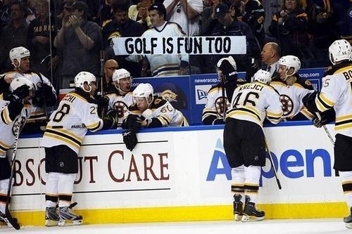 sign,golf,hockey