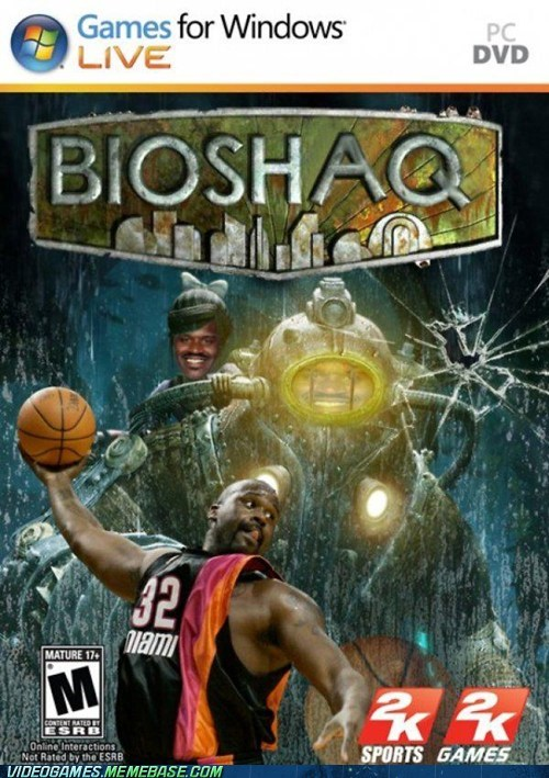nba Shaq bioshock - 6720130816