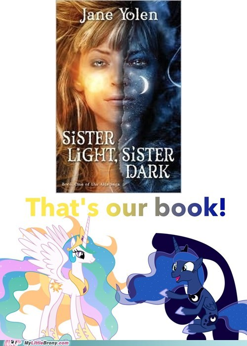 sisters book that's out thing princess celestia luna - 6720163328