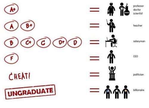 cheat grades don't try hard undergraduate - 6720247296