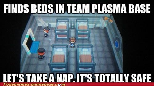 secret base gameplay sleepy times team plasma - 6720262656
