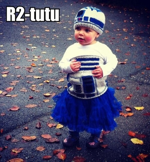 r2d2,tutu,cute baby,g rated,Parenting FAILS