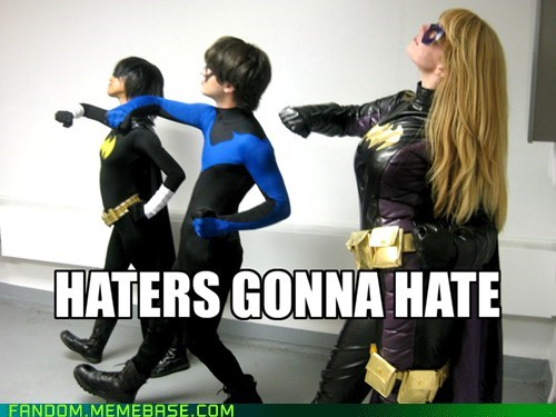 cosplay,batman,haters