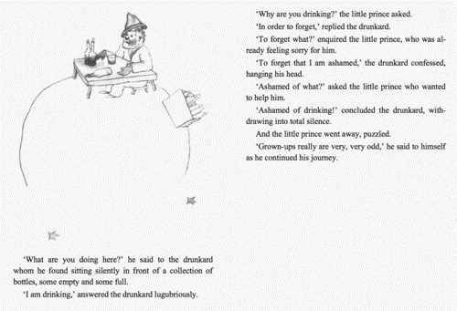 the little prince,life of a drinker,drunkard
