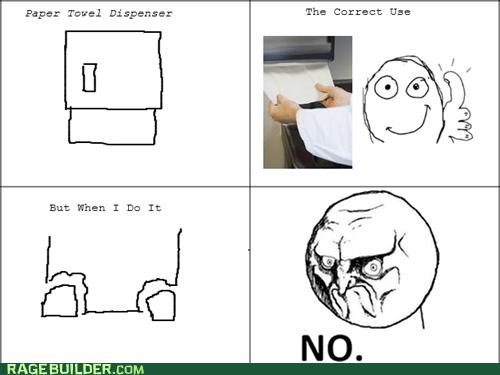 FAIL no paper towel - 6720329728