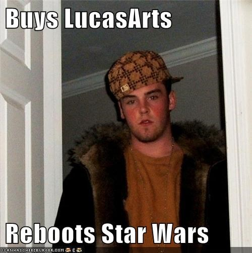 disney star wars lucasarts Scumbag Steve - 6720368128
