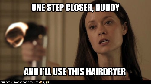 buddy Skylar Adams one step closer hair dryer summer glau - 6720421120