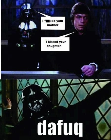 Luke star wars gross snape dafuq