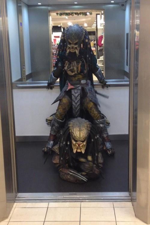 cosplay,Predator,gangnam style