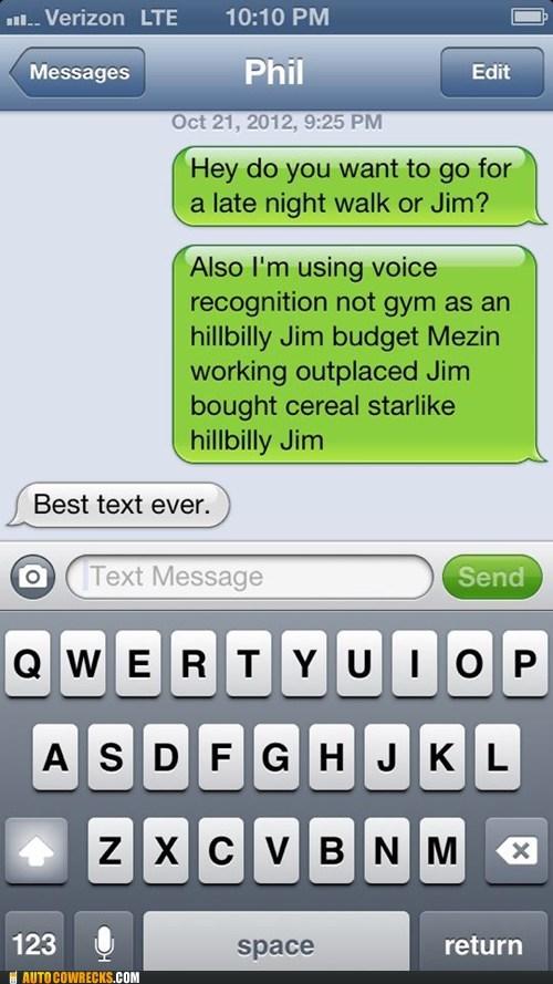 jim gym iPhones siri voice recognition - 6720462080