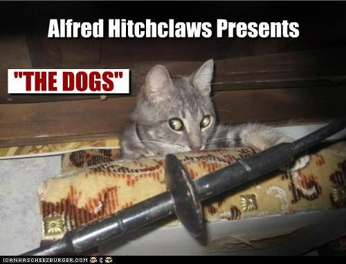 Alfred Hitchclaws Presents: