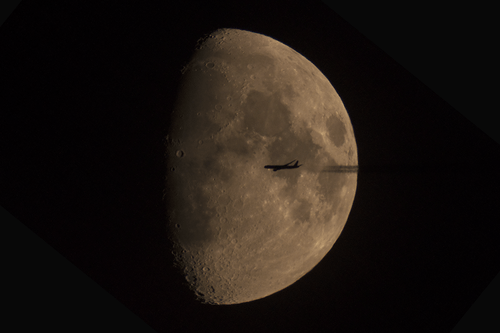 nasa,moon,airplane