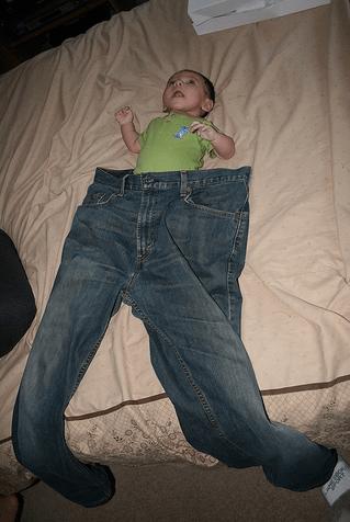 big pants,baby
