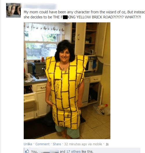 halloween costumes,facebook,mom