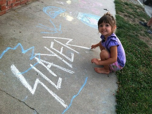 sidewalk chalk,slayer