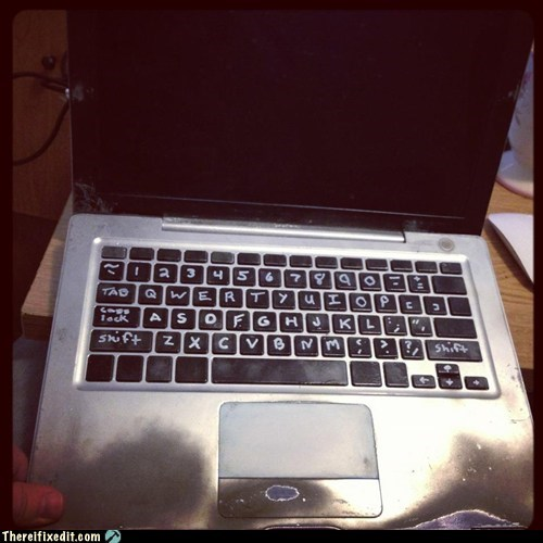mac os x,macbook,pos x,Macbook pro,laptop,keyboard,g rated,there I fixed it