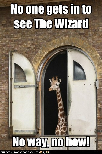 wizard of oz,no way,Movie,giraffes,quote