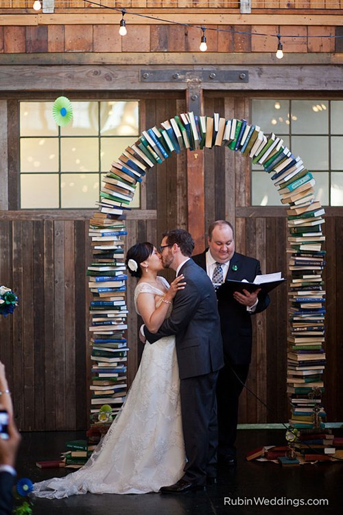 decor cute arch books - 6720791552