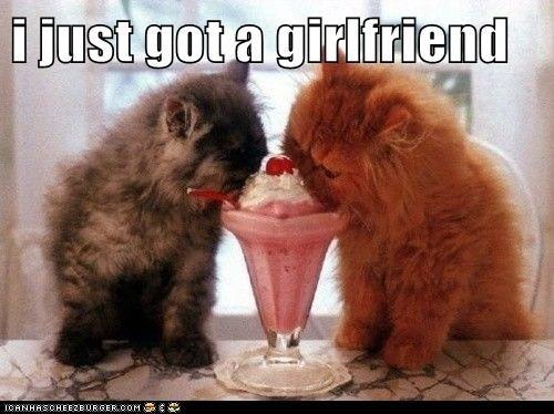 i just got a girlfriend