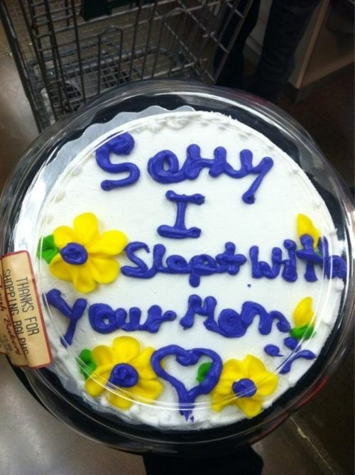 cake slept with your mom birthday - 6720945408