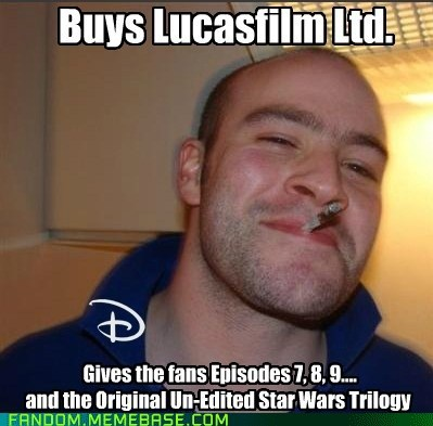 disney star wars Memes Good Guy Greg - 6720987648
