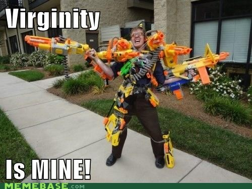 costume,guns,over 9000,poor males,virginity