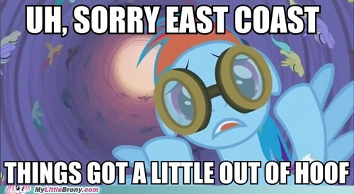 too soon,rainbow dash,hurricane sandy