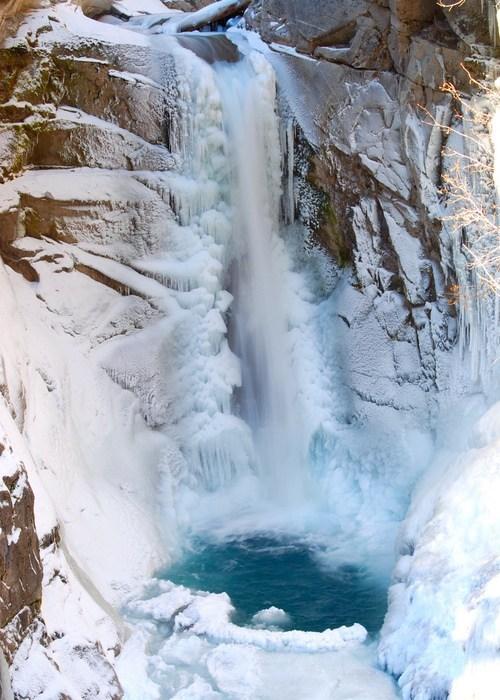 snow pool ice winter - 6721274624
