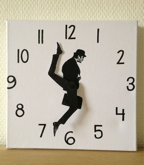 ministry of silly walks design DIY clock Hall of Fame best of week g rated win - 6721276928
