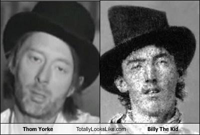 Music billy the kid Thom Yorke TLL celeb funny - 6721544960