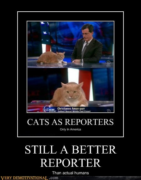 STILL A BETTER REPORTER Than actual humans