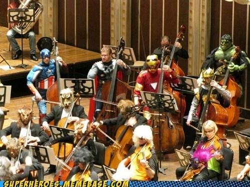 assemble costume ensemble orchestra avengers - 6721756160