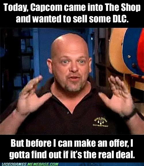 DLC,capcom,just a key,pawn stars