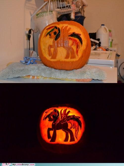 pumpkins halloween rainbow dash - 6722056192