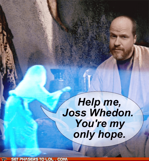disney director hope star wars carrie fisher help me Joss Whedon Princess Leia